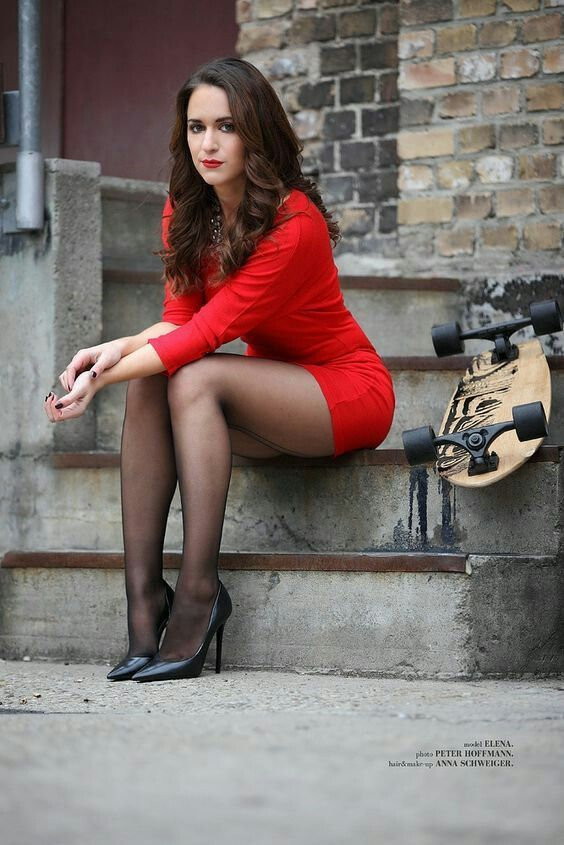 Really sexy women in pantyhose