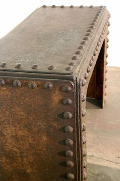 Rivets on Pinterest Steel, Industrial and Industrial Interior Design
