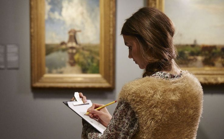 In Amsterdam, the Rijksmuseum gave its visitors a more immersive experience by having them trade in their selfie sticks for some good 'ol pencil and paper.