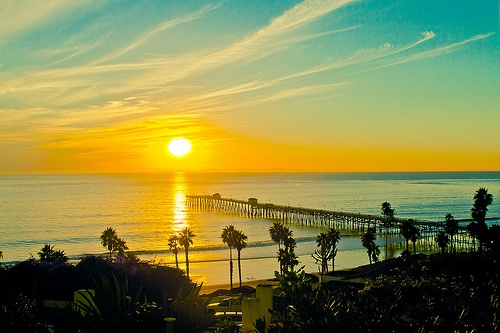 San Clemente sunset (California)