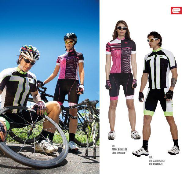 Uniforme de ciclismo REFERENCIA HOMBRE: PTA CC 0121212043- CTA 0112202043 MUJER: PTA CC 8120212108 - CTA 8112202068