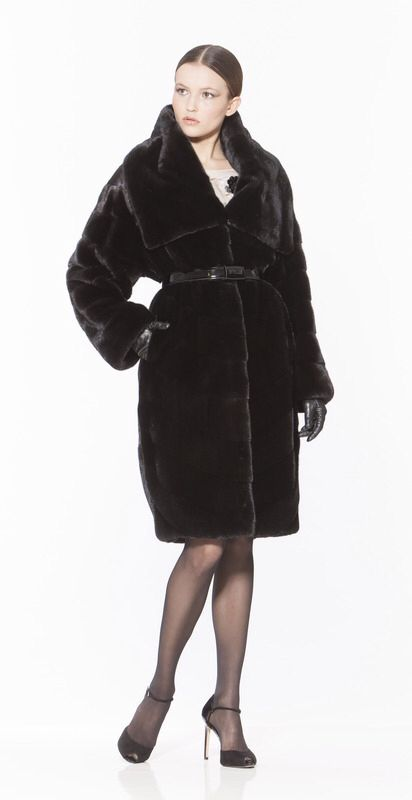 Braschi Blackglama Mink Fur Coat