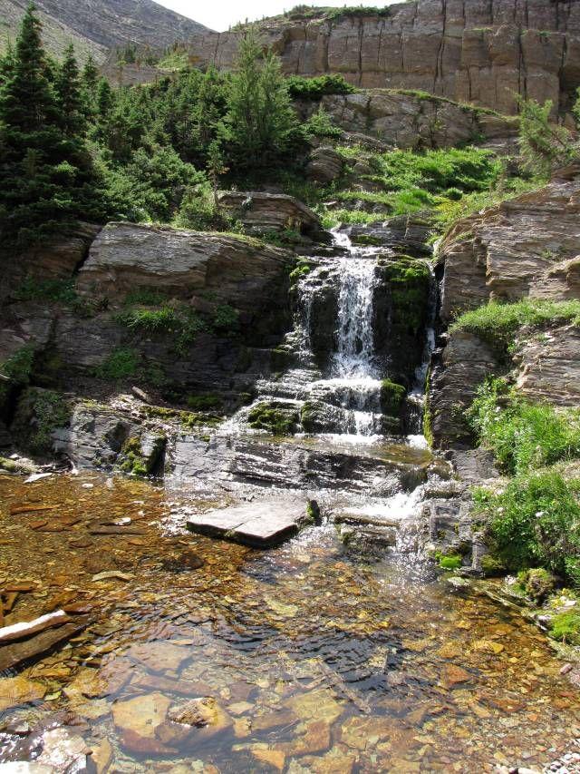 Carthew Alderson Trail in Waterton Lakes National Park south of Calgary, Alberta, Canada
