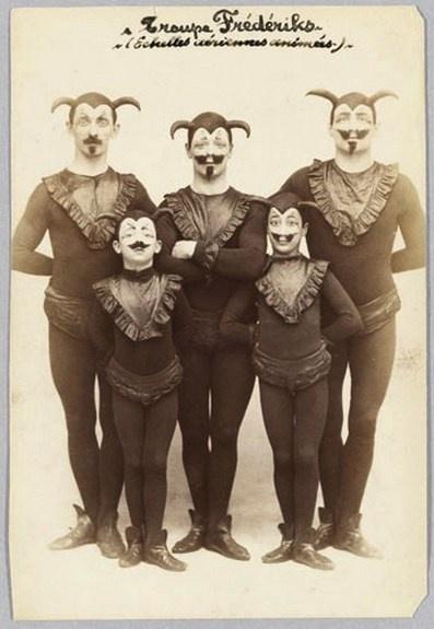 Vintage Circus Performers                                                                                                                                                                                 More