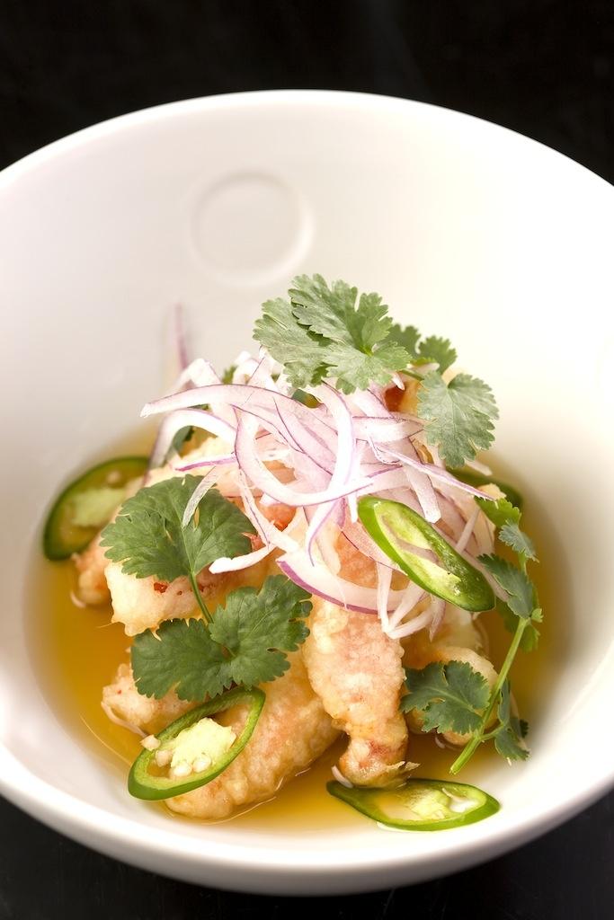 Lobster Tempura Amazu Ponzu   Nobu Lanai Hot Dishes   Pinterest   Tempura, Japanese food and ...