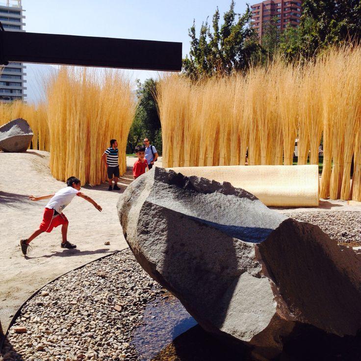 Bosque de Mimbre. YAP Constructo 2015. Parque araucano. #grupotalca