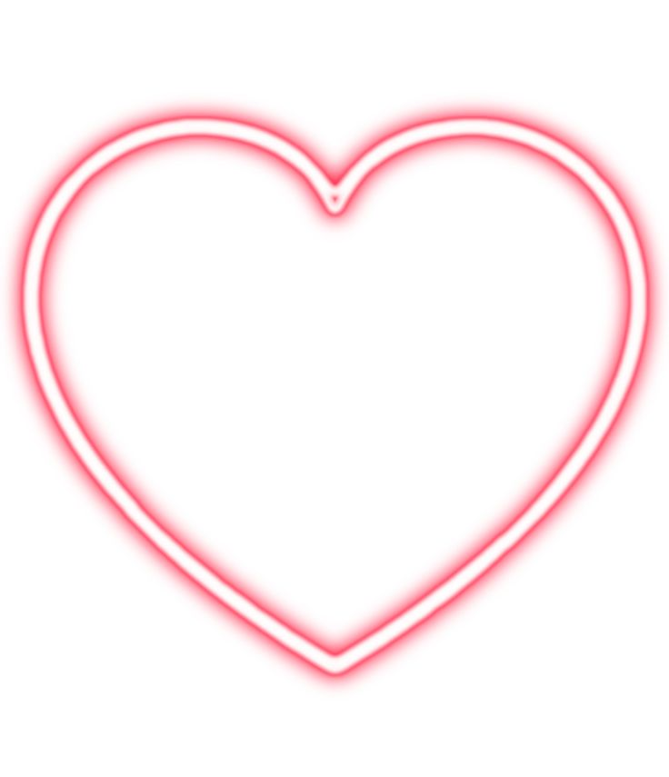 Redneonheart Red Neon Heart Redglowingheart Glowing Png Pngs Pngstickers Transparent Nobackground Sticker Pngst Neon Png Heart Overlay Picsart Png