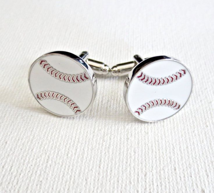 Baseball Wedding Gifts: Baseball Cufflinks In 2019