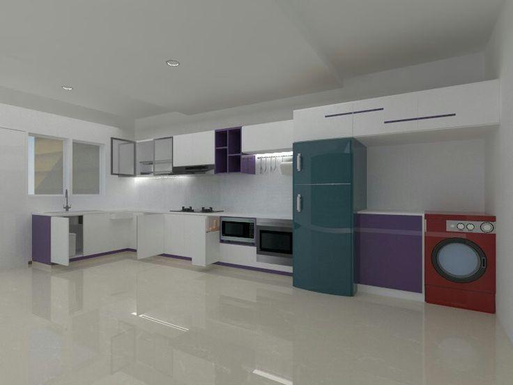 #kitchen #purple .....
