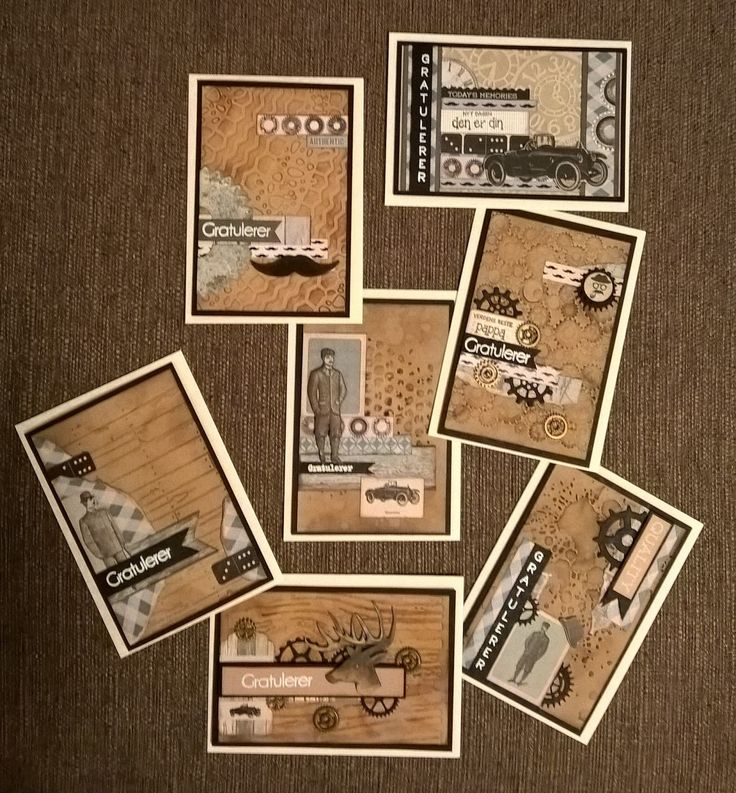 LivArtNow - Masculine Cards, Barber Shoppe by Kaisercraft
