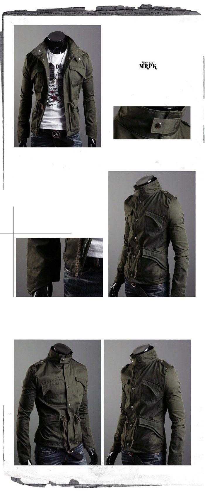 Meily Hombre - Fashion Casaca- Moda Coreana- Ms198 - S/. 138,00 en MercadoLibre