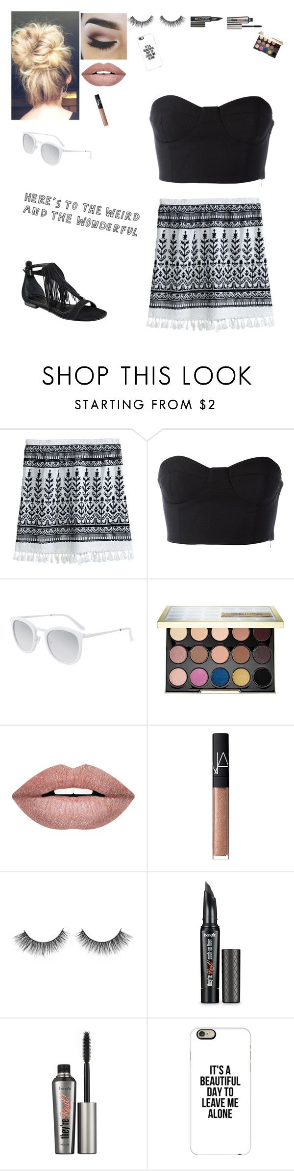 """Untitled #160"" by kat341 ❤ liked on Polyvore featuring Calypso St. Barth, Daizy Shely, Smoke x Mirrors, Urban Decay, Forever 21, NARS Cosmetics, Benefit, Casetify and Kendall + Kylie"