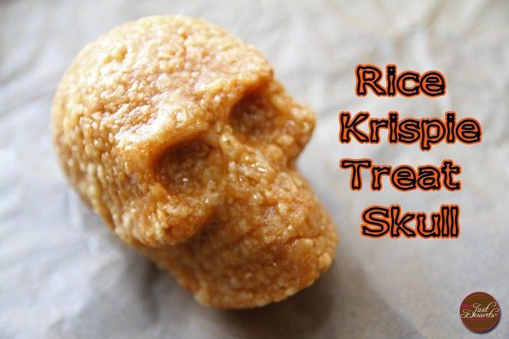 Rice Krispie Treat (RKT) Skulls by Jen's Just Desserts