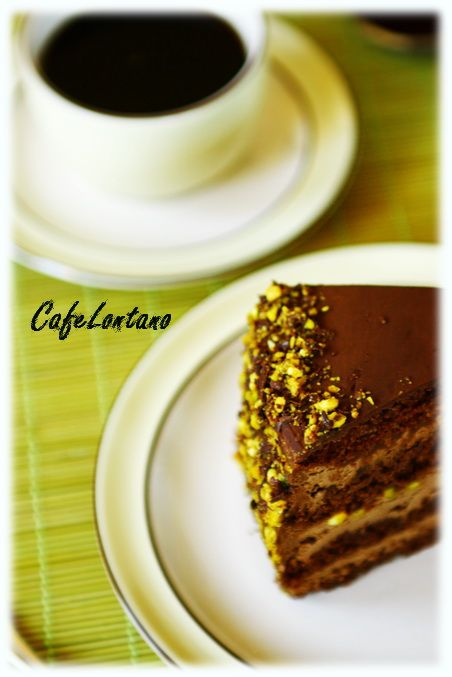 Çikolatalı pasta22
