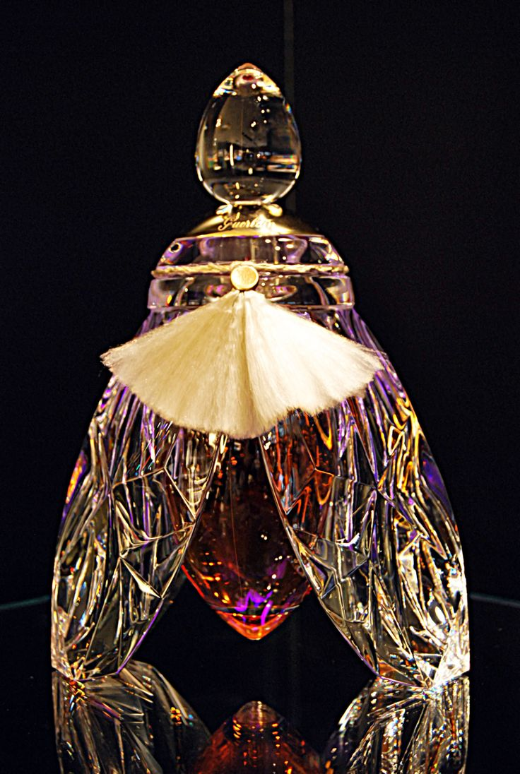 L'Abeille de Guerlain Luxury Fragrance An exclusive bottle of perfume that costs a small fortune and has real gold in it.
