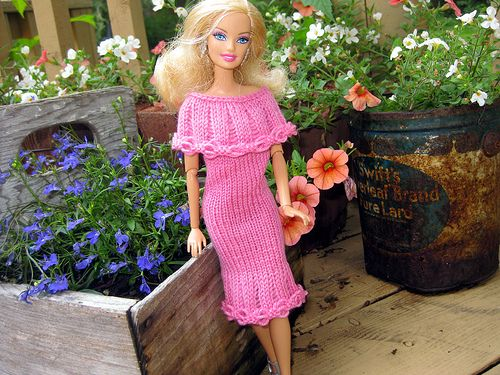 Ugly Doll Knitting Pattern Free : Free Barbie Crochet Dress Patterns barbie clothes knitting patterns Knitt...