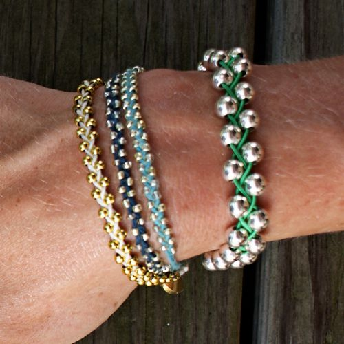 Video Tutorial:  Braided Bead Bracelet