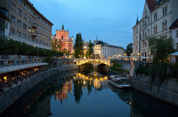 https://flic.kr/p/cLUh4o | Ljubljana Slovenia Evening
