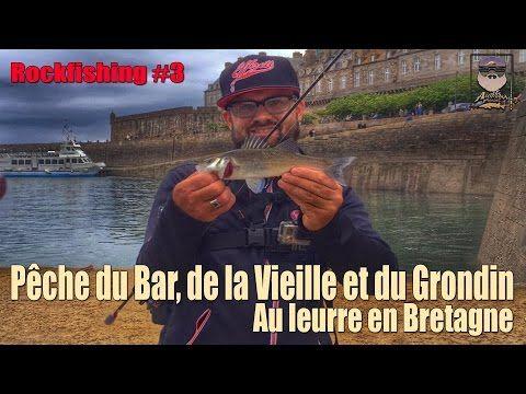 Rockfishing #3 Pêche du Bar, de la veille et du grondin en bretagne  #bretagne #grondin #rockfishing