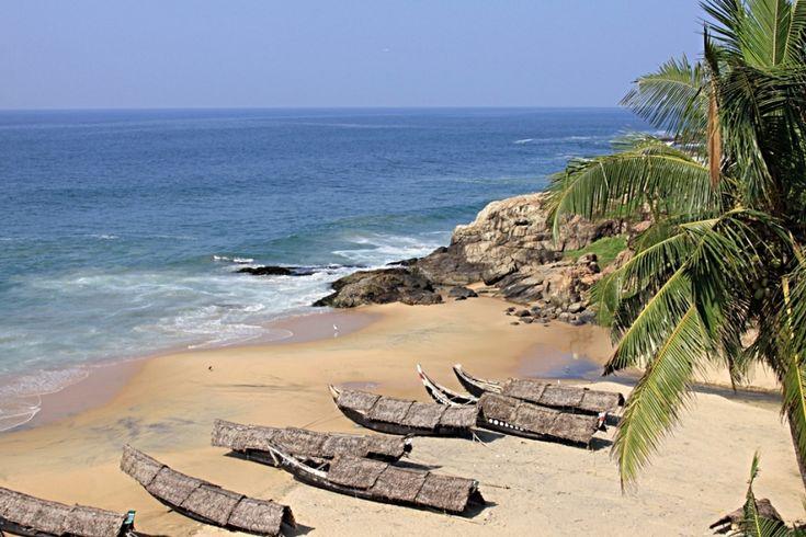 Spiaggia del Kerala vicino a Poovar Foto di Samuele Fracasso