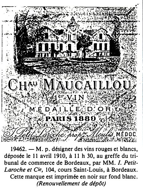 Maucaillou_Medaille_1890