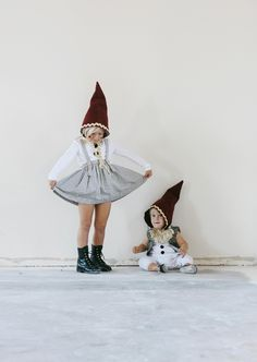 Gnome Costume Halloween - Zwerg Kostüm Fasching
