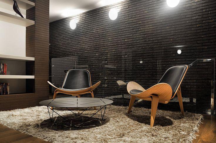 Cigla u enterijeru Uređenje prostora #Kancelarija #Vandersanden - design ideen fur wohnungseinrichtung belgrad aleksandar savikin
