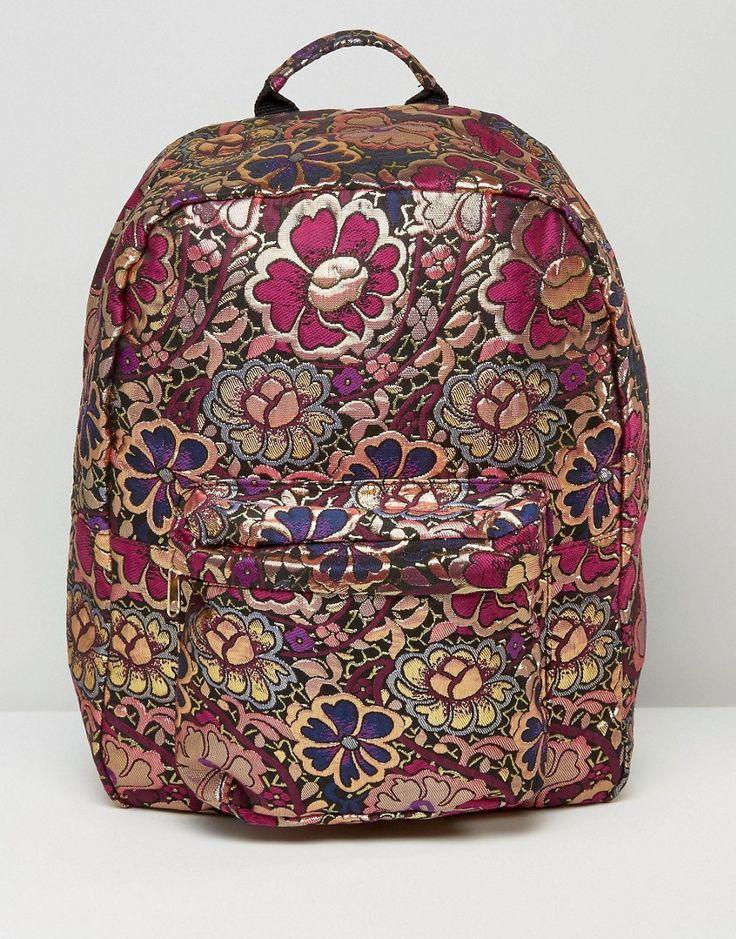 Image 1 ofASOS HENA Brocade Backpack