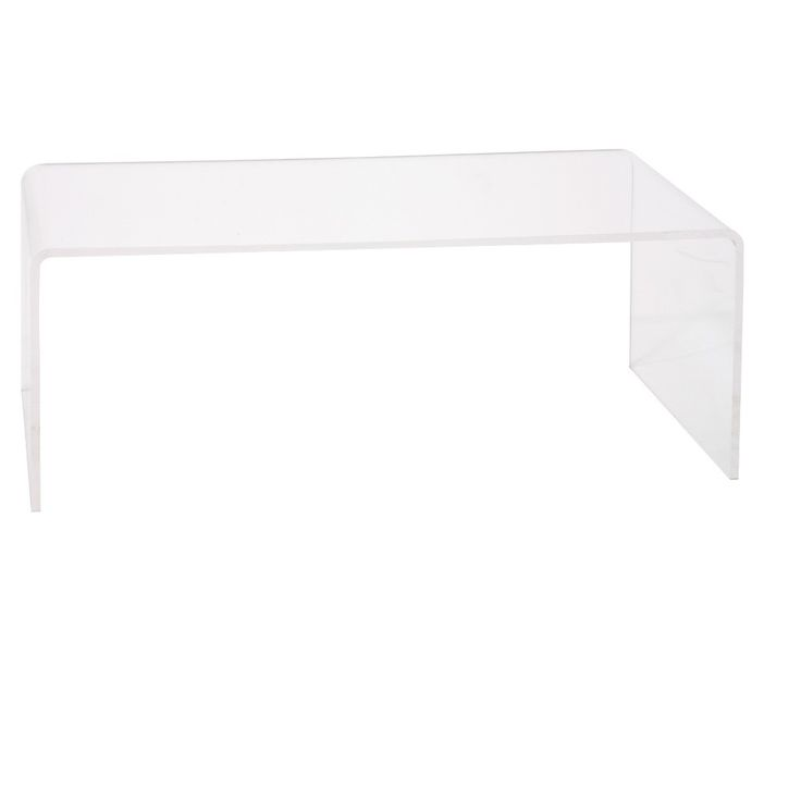 Hamilton Home Lucite Tall Coffee Table - Clear