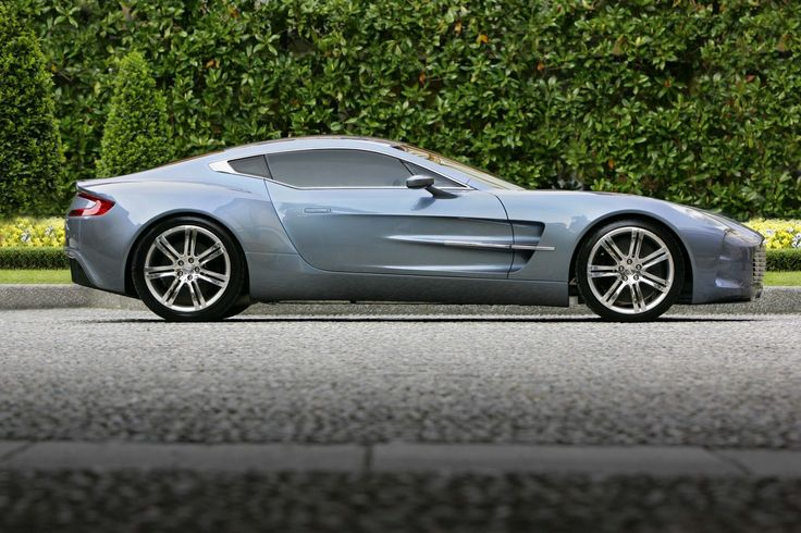 Aston Martin One-77: 220 mph (354 km/h), 0-60 in 3.4 secs. 7.3 litre V12 Engine with 750 hp. Base price: $1,850,000. The production of this is limited to 77, hence the name One-77. This is beauty and power packed into One.
