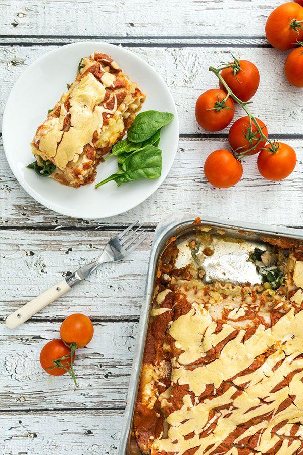 Dairy Free Sweet Potato Lasagna Whole Food Recipes Potato Lasagna Vegetarian Vegan Recipes
