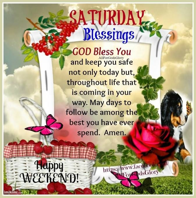 Weekend Blessings Quotes