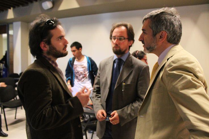 El Doctor Gustavo González de la Universidad de Navarra visitó la UBO