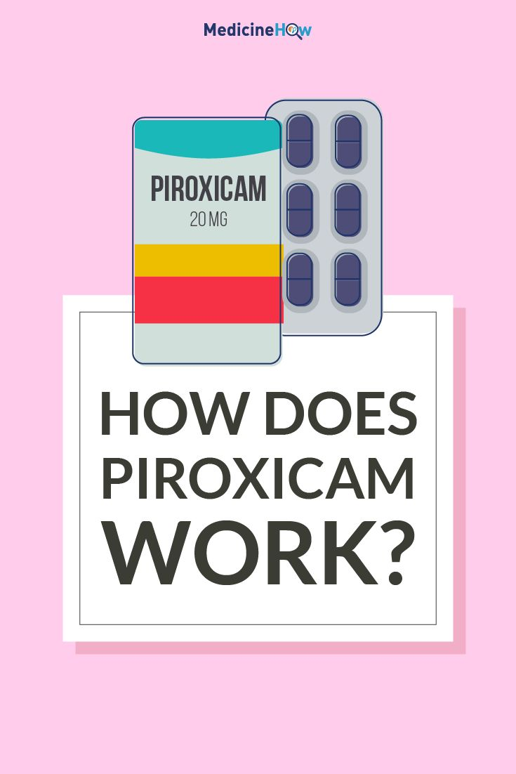 How Does Piroxicam Work?