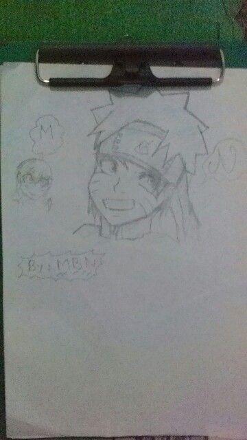 Naruto uzumaki  dibujos