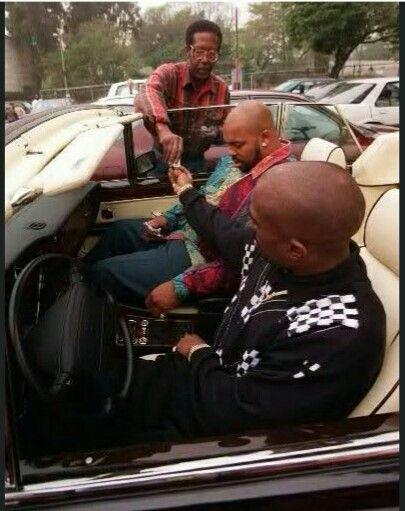 Tupac Shakur e Suge ( devil)