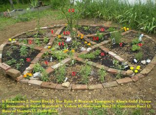 Pentacle Gardens And Wiccan On Pinterest