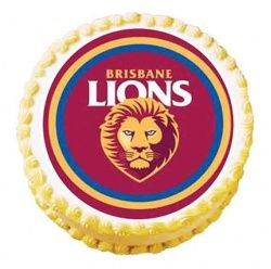 brisbane lions football club image cake