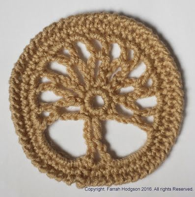 Tree of Life -free crochet pattern-