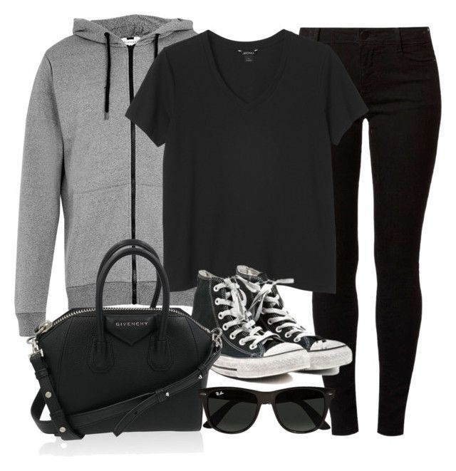 """Style #11276"" by vany-alvarado ❤ liked on Polyvore featuring Topman, Dorothy Perkins, Monki, Converse, Givenchy and Ray-Ban"