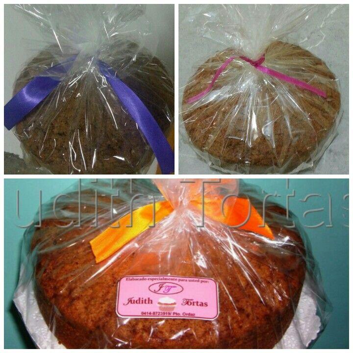 Tortas de Zanahorias sin decoración