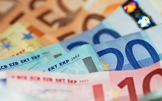 Обои деньги, евро