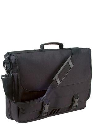 Easy Shoulderbag• Utvidbar opp til 15 cm• Avtagbar skulderrem• Lomme med glidelås• Holder til tre penner• Dokument rom• 600D polyester• 40x10x29 cmTrykk: Ønsker du din logo på dette produktet? Be oss om pris på post@blatt.no