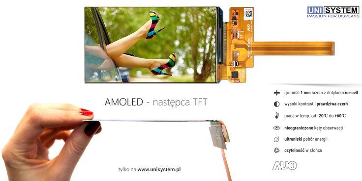 AMOLED - TFT replace