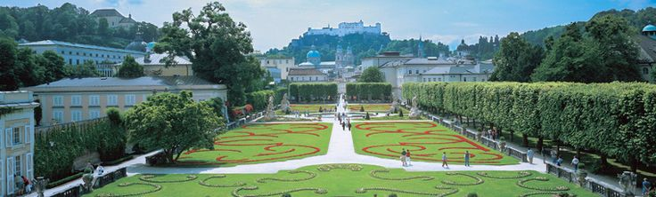 The Mirabell Palace and gardens, Salzburg.