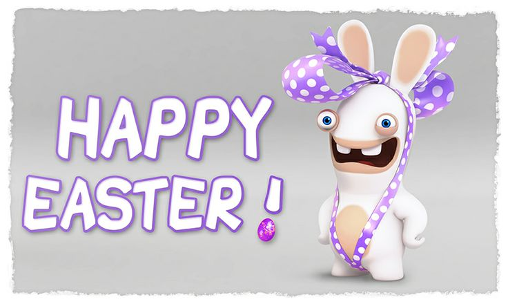 Bwaaahppy easter rabbids holidays lapin cretin lapin - Rabbids unicef ...