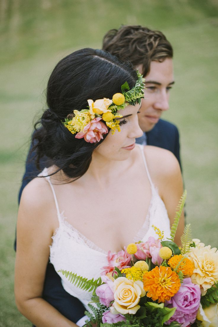 Colourful wedding Marni & Luke Gippsland Australia