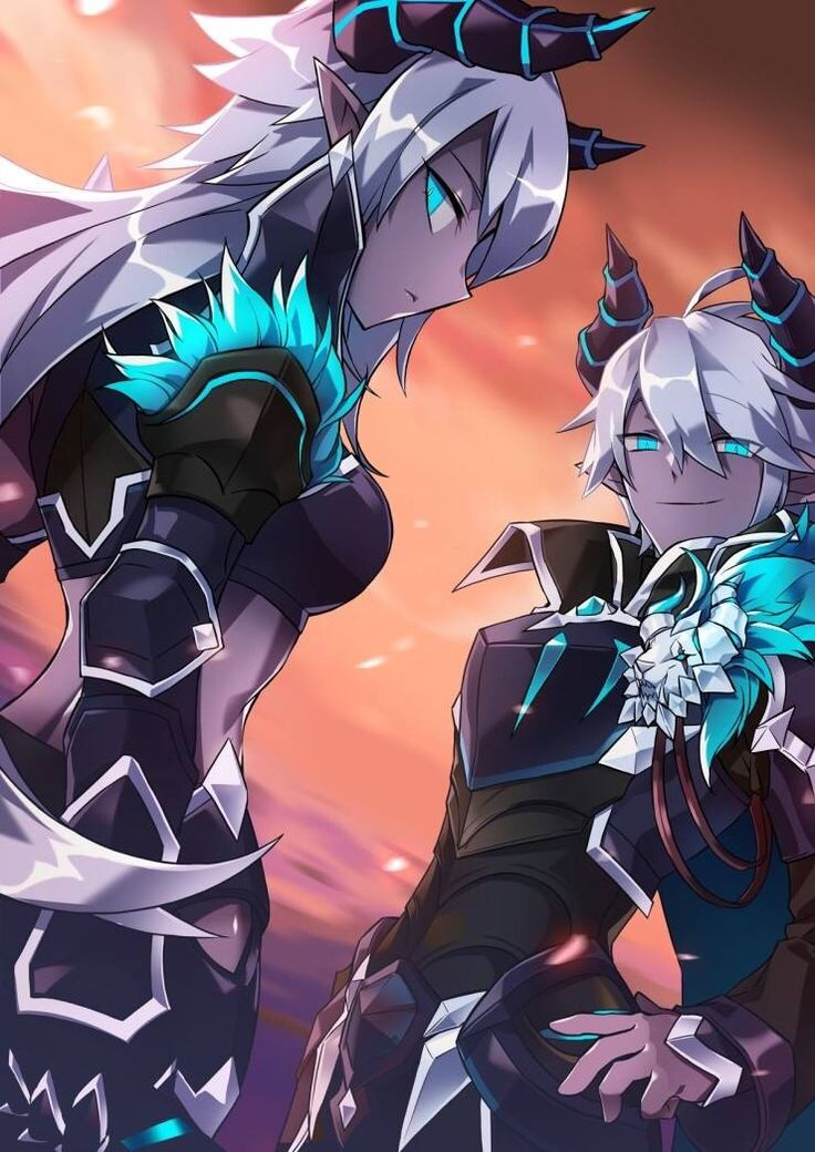 Elsword... In all honesty, I would have preferred them as the duel character than Luciel