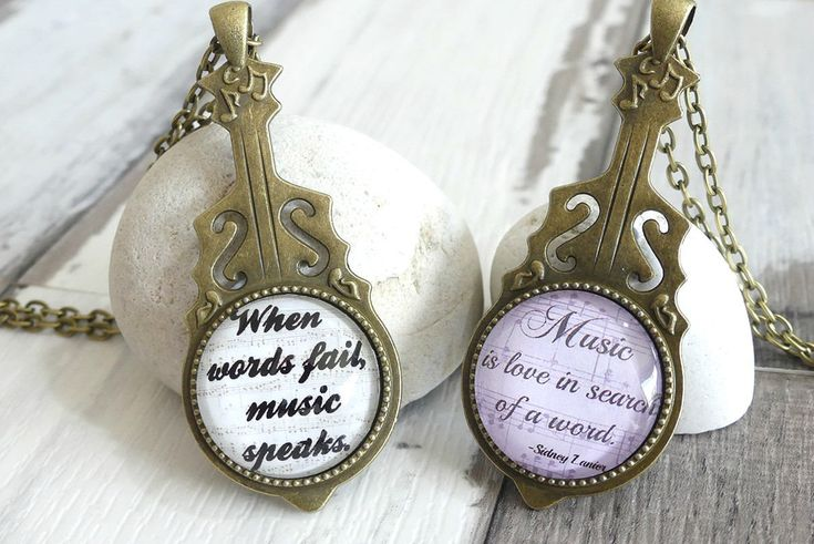 Excited to share the latest addition to my #etsy shop: Music Quote, Pendant Necklace, Musician Gifts, Violin Jewelry, Gift For Music Lover, Music Necklace, Glass Pendant, Gift For Women, http://etsy.me/2C53A4o #jewelry #necklace #bronze #no #music #birthday #vi