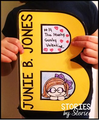 Kids love reading about Junie B. Jones. This B-shaped craft booklet can be used for students to respond to any of the books in the series.